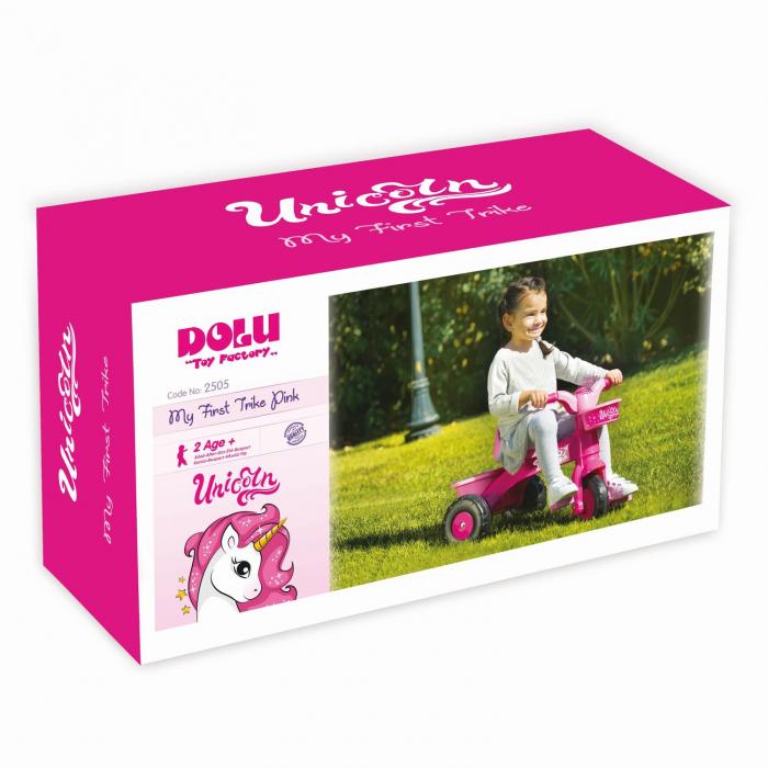 Prima mea tricicleta roz - Unicorn 0