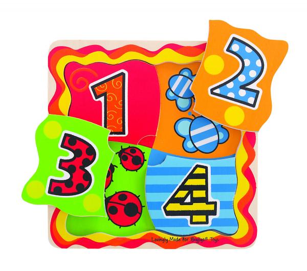 Primul meu puzzle - numere 0