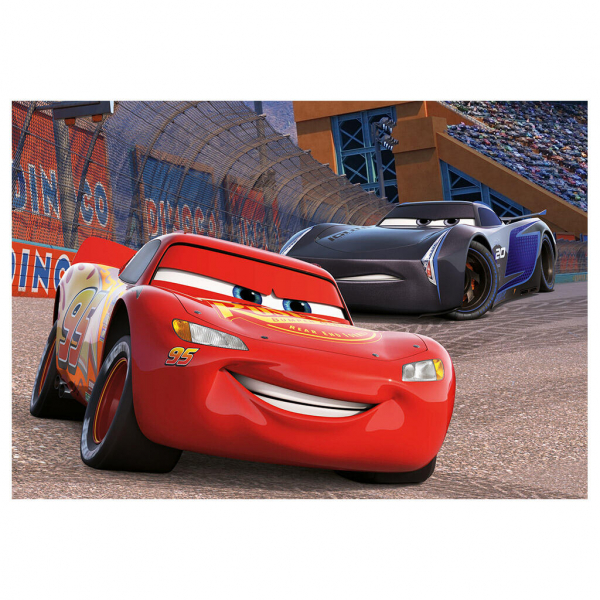 Puzzle 2 in 1 - Cars 3: Cursa cea mare (77 piese) 2