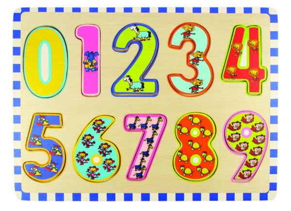 Puzzle - cifre 0-9 0