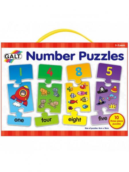 Puzzle cu numere (3 piese) 0