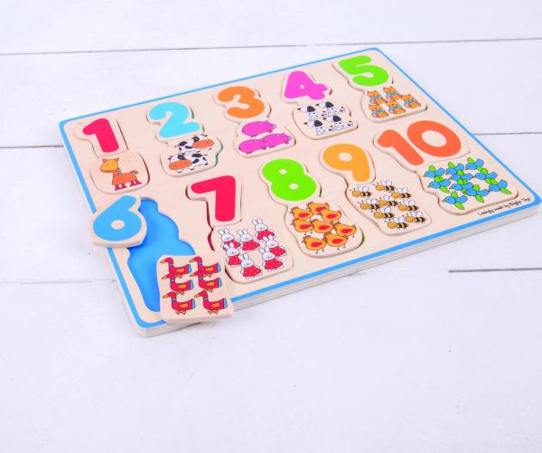 Puzzle - numere si culori 1