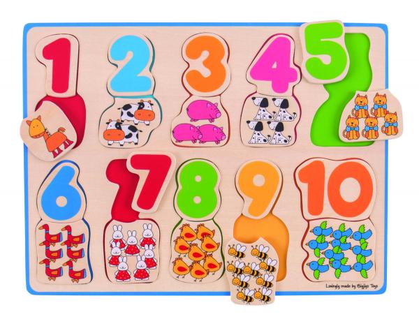 Puzzle - numere si culori 2