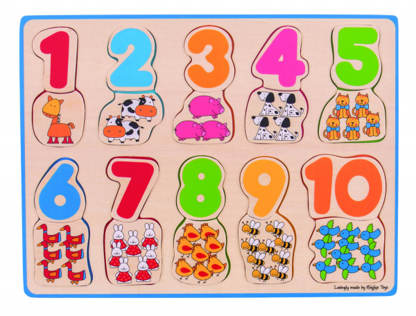 Puzzle - numere si culori 0