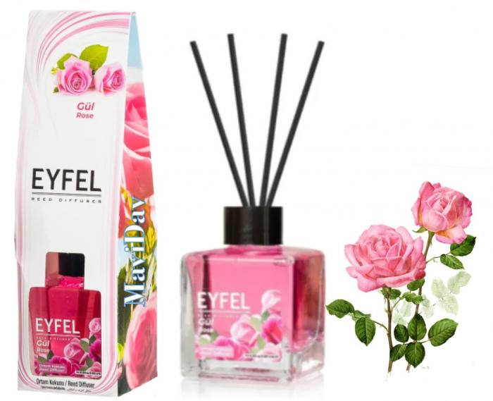 Odorizant de camera Eyfel 120ml - Trandafir [0]