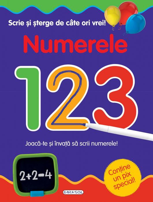 Scrie si sterge de cate ori vrei - Numerele [0]