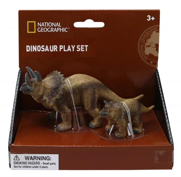 Set 2 figurine - Triceratops 0