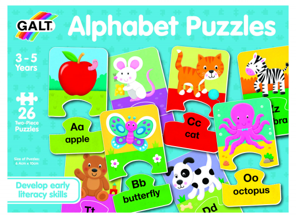 Set 26 de puzzle-uri Alphabet (2 piese) 1