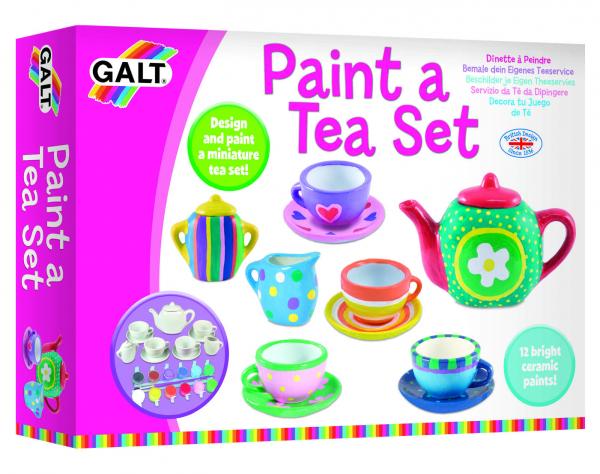 Set ceramica: Picteaza un set de ceai 6