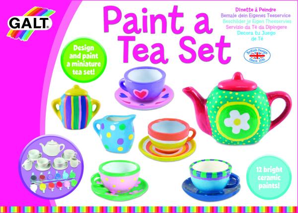 Set ceramica: Picteaza un set de ceai 5