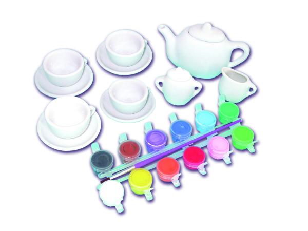 Set ceramica: Picteaza un set de ceai 3