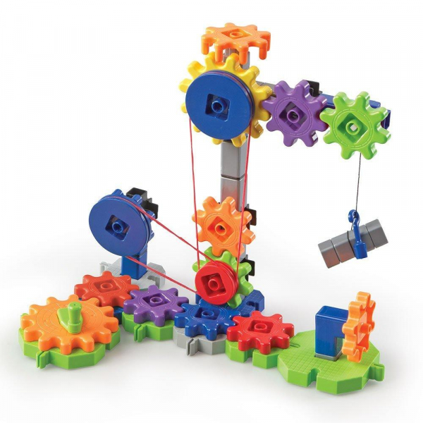 Set de constructie Gears! - Utilaje in miscare 2
