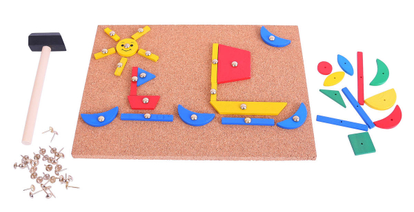Set de creatie - Forme din lemn 1