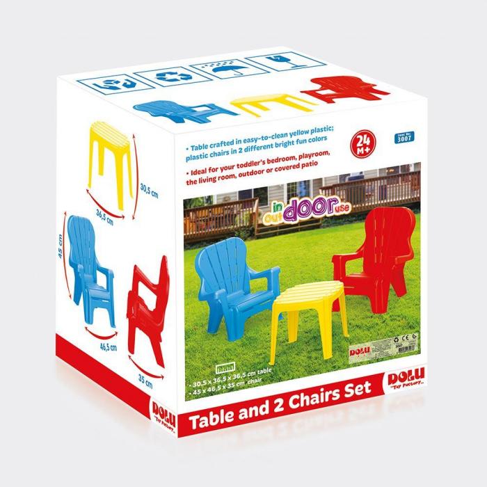 Set de masa cu scaune 1