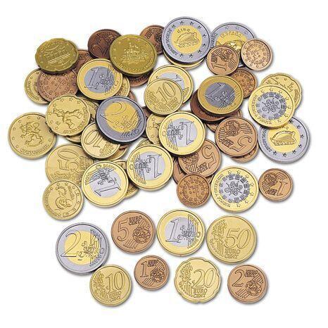 Set de monede de jucarie (Euro) 1