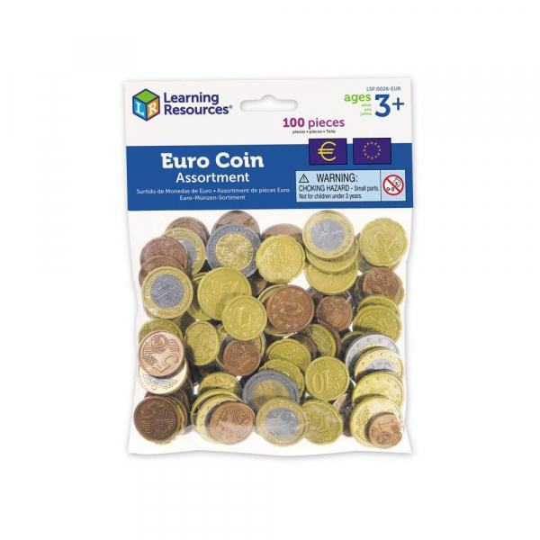 Set de monede de jucarie (Euro) 0