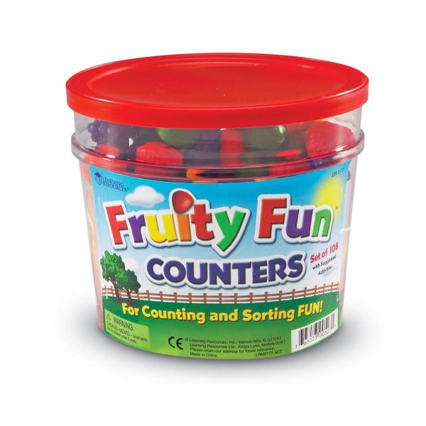 Set de sortat - Fructe (108 piese) 1