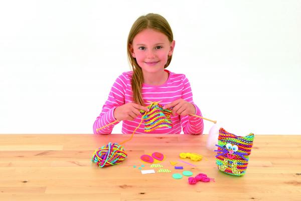 Set de tricotat - Bufnita 4