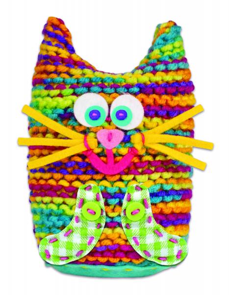 Set de tricotat - Pisicuta 3