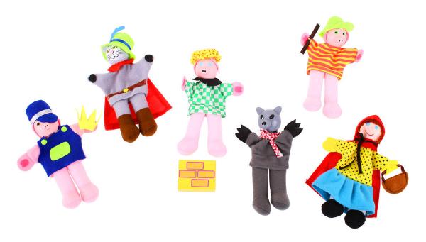 Set papusi degetar - Povestile copilariei 0