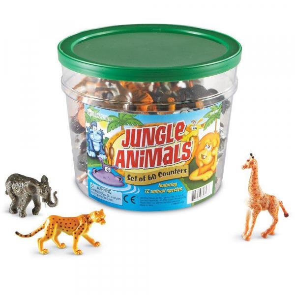 Set pentru sortat - Animalute din jungla 4