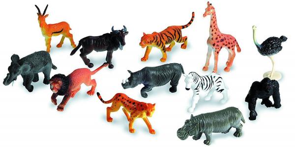 Set pentru sortat - Animalute din jungla 3