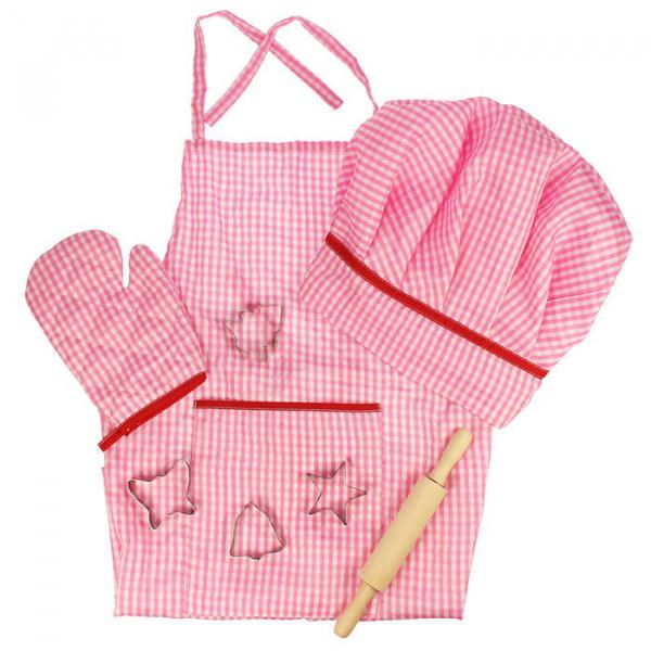 Set sortulet si accesorii roz 0