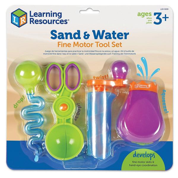 Set ustensile pentru experimente - Apa si Nisip 0