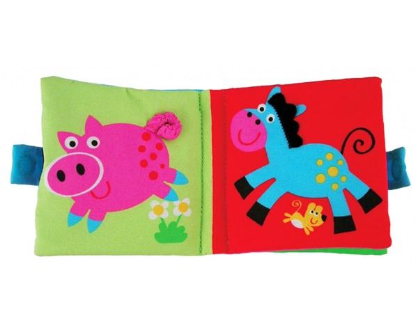 Soft Book: Carticica moale Farm 0
