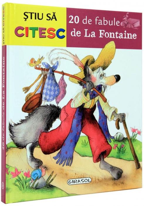 Stiu sa citesc - 20 de fabule de La Fontaine 0