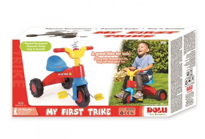 Tricicleta copii - Pastel [1]
