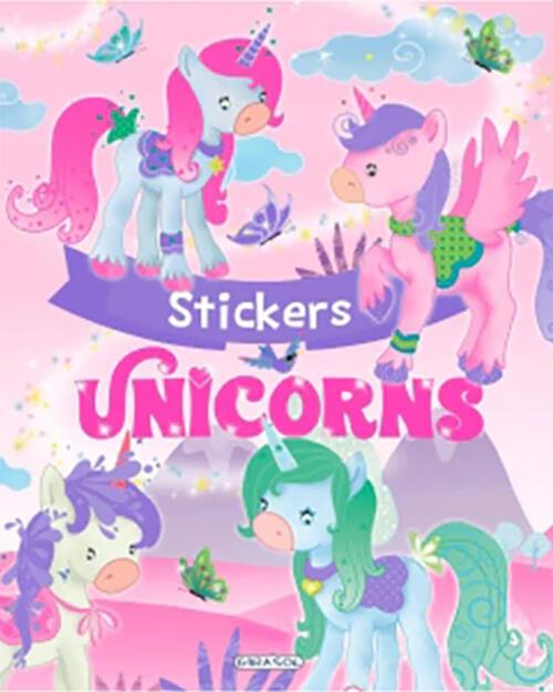 Unicorns stickers (roz) 0