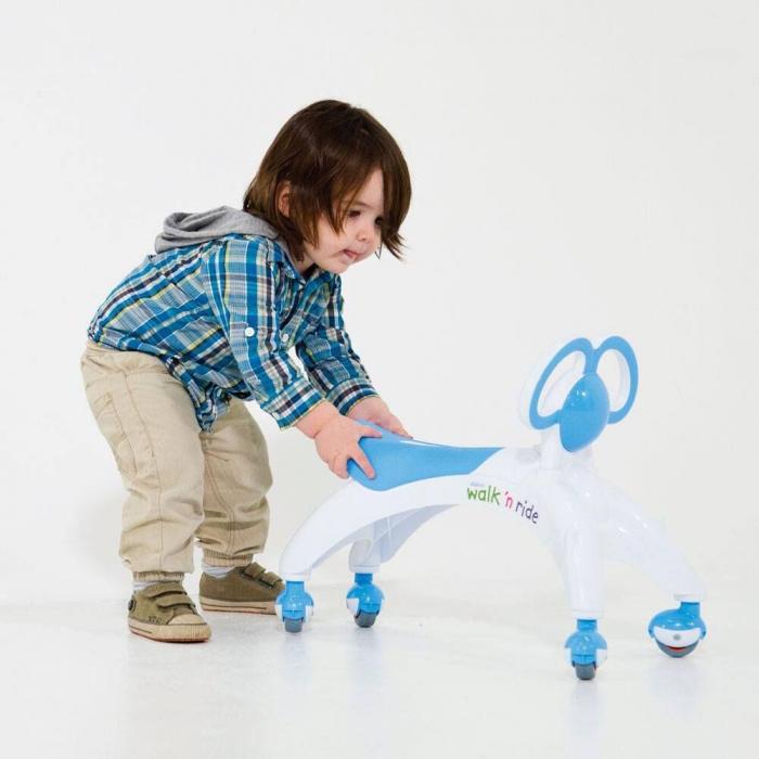 Vehicul fara pedale - Walk 'n' Ride (albastru) 1