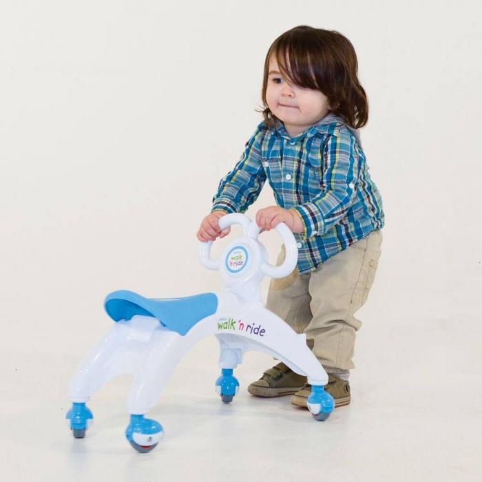 Vehicul fara pedale - Walk 'n' Ride (albastru) 2