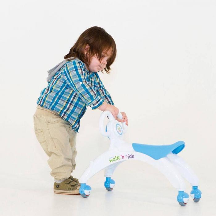 Vehicul fara pedale - Walk 'n' Ride (albastru) 3