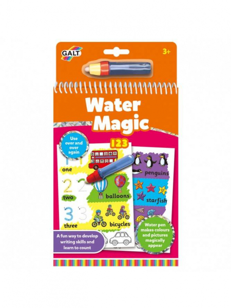 Water Magic: Carte de colorat 123 0