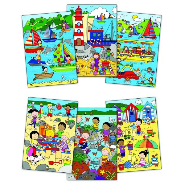 Water Magic:Carte de colorat La mare 1