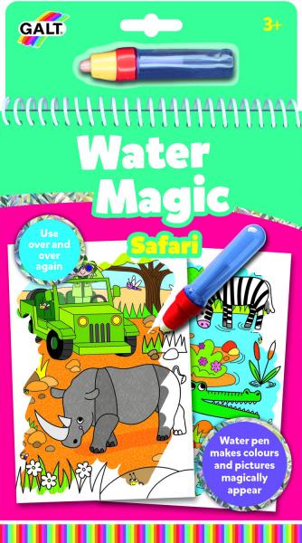 Water Magic: Carte de colorat Safari 0