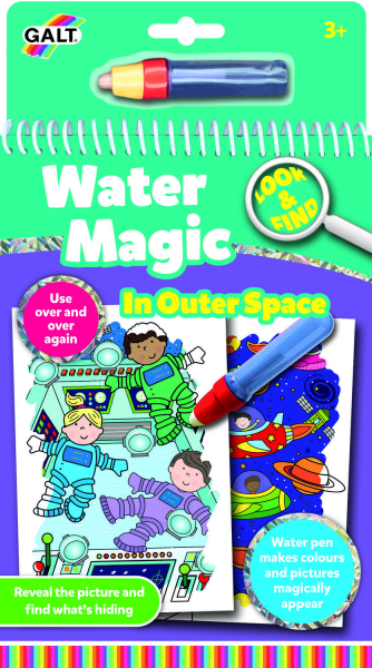 Water magic: Carte de colorat Spatiu 0