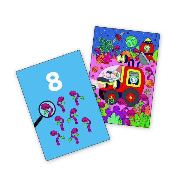 Water magic: Carte de colorat Spatiu 2