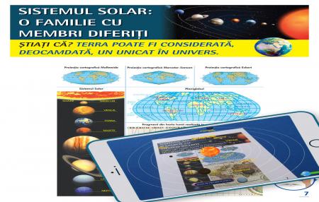 Atlas geografic scolar. Cunoasterea Terrei prin realitatea augmentata1