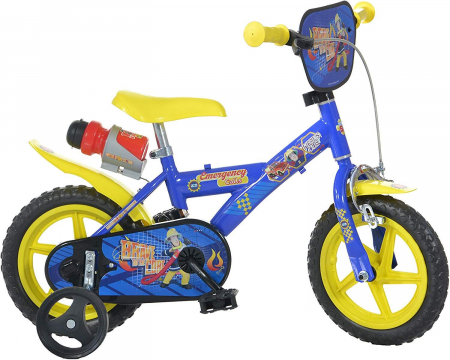 Bicicleta copii 12'' Pompierul Sam [1]