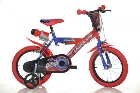 Bicicleta copii 14 '' Spiderman [0]