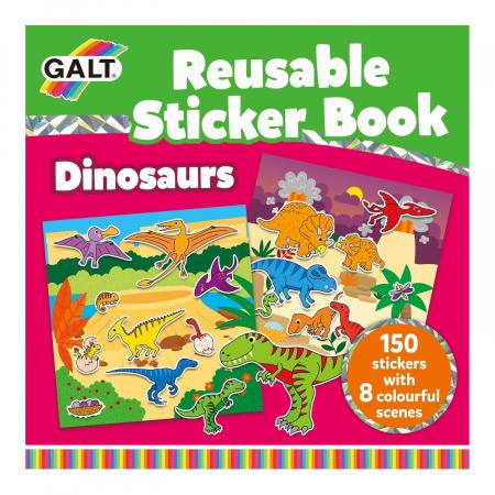 Cartea mea cu stickere - Dinozauri [0]