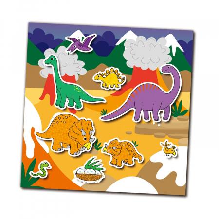 Cartea mea cu stickere - Dinozauri [1]