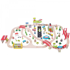 Circuit auto si  feroviar  (125 piese)4