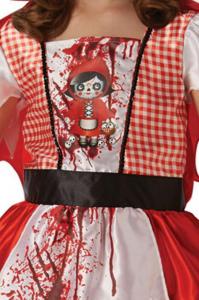 Costum de carnaval - Scufita Rosie infricosatoare1