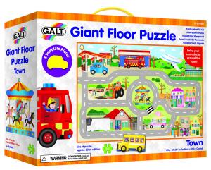 Giant Floor Puzzle: Orasul (30 piese)0