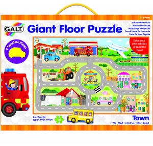 Giant Floor Puzzle: Orasul (30 piese)2