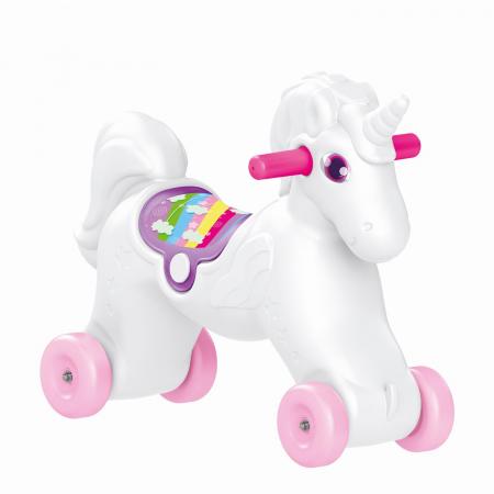 Jucarie 2 in1 - Unicorn balansoar2